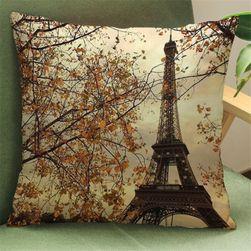 Față de pernă cu turn Eiffel