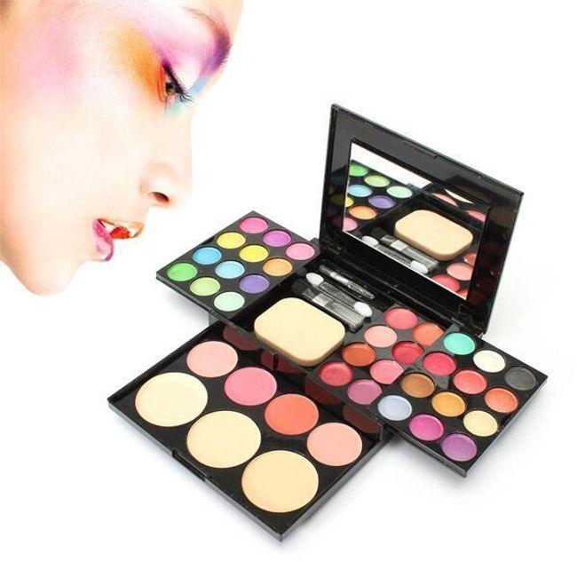 Kozmetična paleta z ogledalom 1