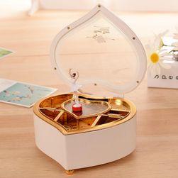 Muzička kutija za nakit sa balerinom - 2 boje