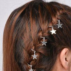 Ozdobné kroužky do vlasů s přívěsky