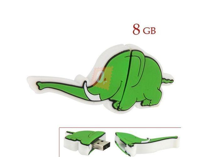 8GB Flashdisk - slon 1