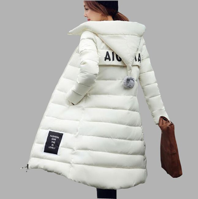Dugačka zimska jakna Oriana - 6 boja 1