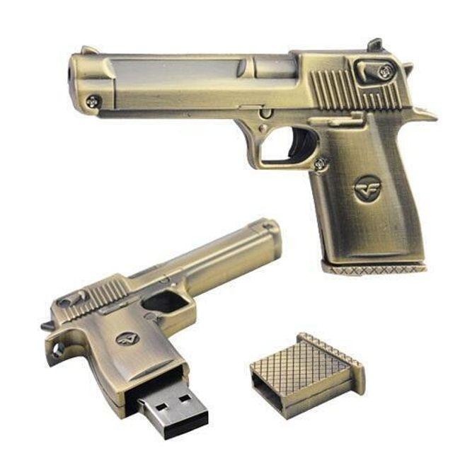 Flash disk ve tvaru pistole - 2, 4, 8, 16 nebo 32 GB 1