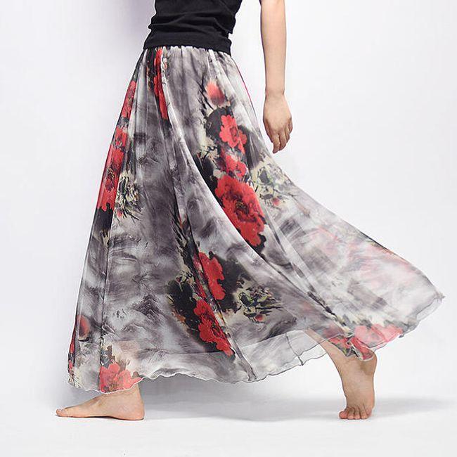 Dlouhá vzdušná sukně Summer - 13 1