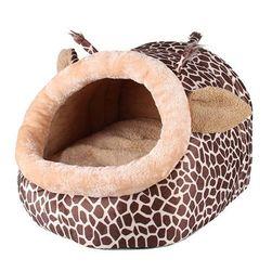 Pelíšek pro pejsky a kočičky v podobě žirafy - 3 velikosti