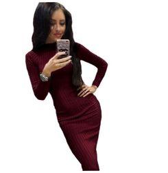 Женское платье с длинными рукавами Winee