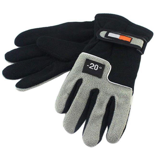 Zimske moške rokavice za ekstremen mraz 1