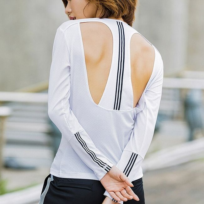 Sportowa damska koszulka Emmaline 1