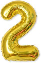 Nafukovací balónky čísla maxi zlaté - 2 SR_DS23602164