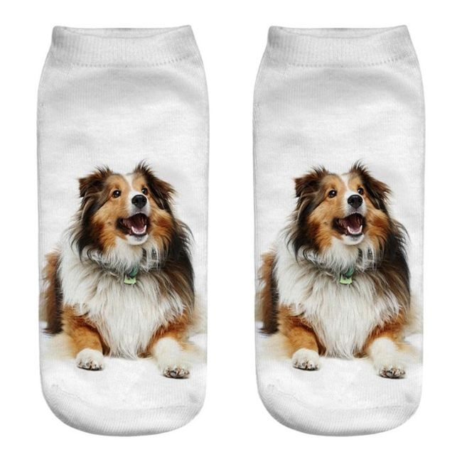 Čarape sa motivima psa - 17 varijanti 1