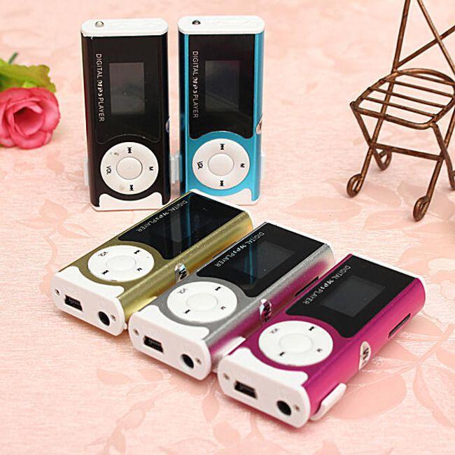 Araba MP3 çalar Mini MP3 přehrávač na micro SD karty - 5 barev 1