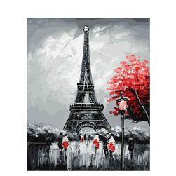 Pictură cu ajutorul numerelor - Turnul Eiffel