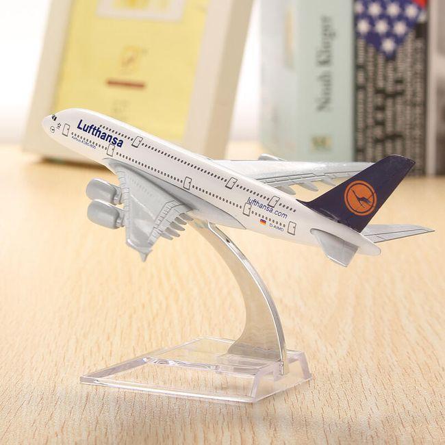 Repülőgépmodell - A380 Lufthansa 1