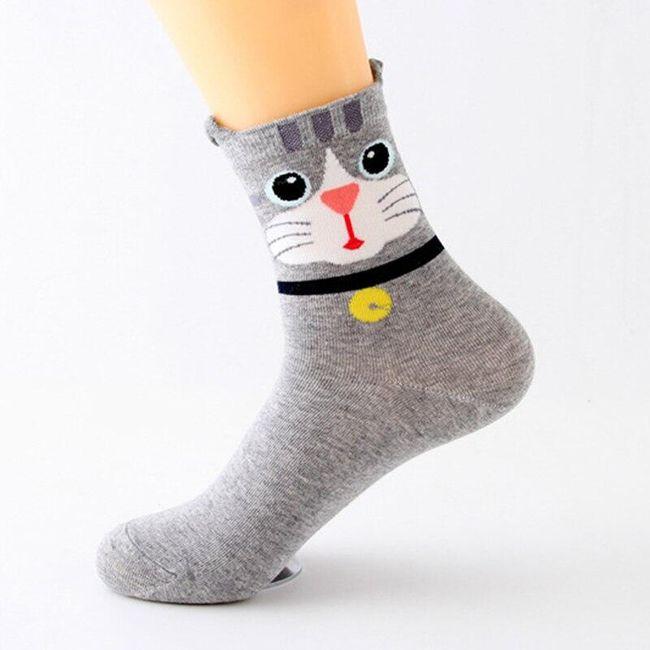Dámské ponožky J07 1