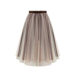 Dámská tylová midi sukně