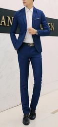 Moška obleka - miks barv