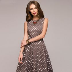 Klasyczna sukienka damska w kropki