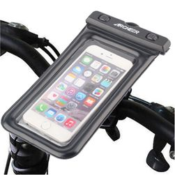 Suport impermeabil telefon mobil pentru ghidon - 4 variante