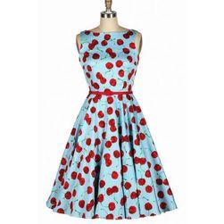 Retro šaty s třešničkami