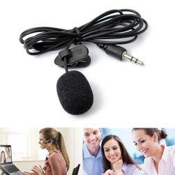 Prenosni mini mikrofon - 3.5 mm jack