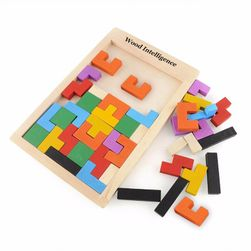 Деревянная головоломка для детей