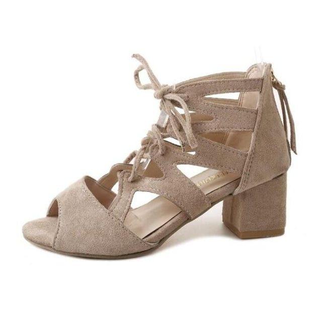 Женские сандали на каблуках Lailah 1