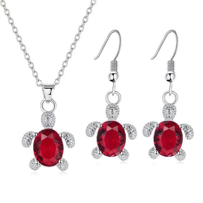 Komplet biżuterii AS116 1