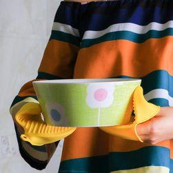 Silikonowa rękawica na gorące naczynia - 4 kolory