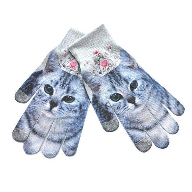 Ženske rukavice sa 3D motivima - 10 varijanti 1