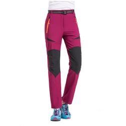 Spodnie damskie do wędrówki - 4 kolory