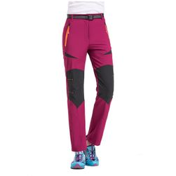 Pantaloni hiking si drumetii montane pentru femei - 4 culori