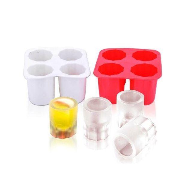 Formă din silicon pentru pahare shot din gheață 1