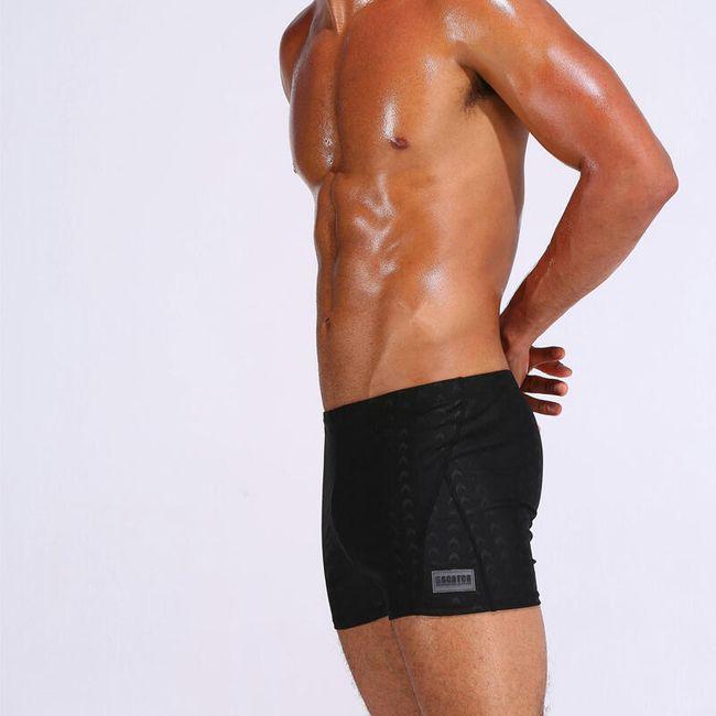 Férfi fürdőruha fekete - 4 méretben