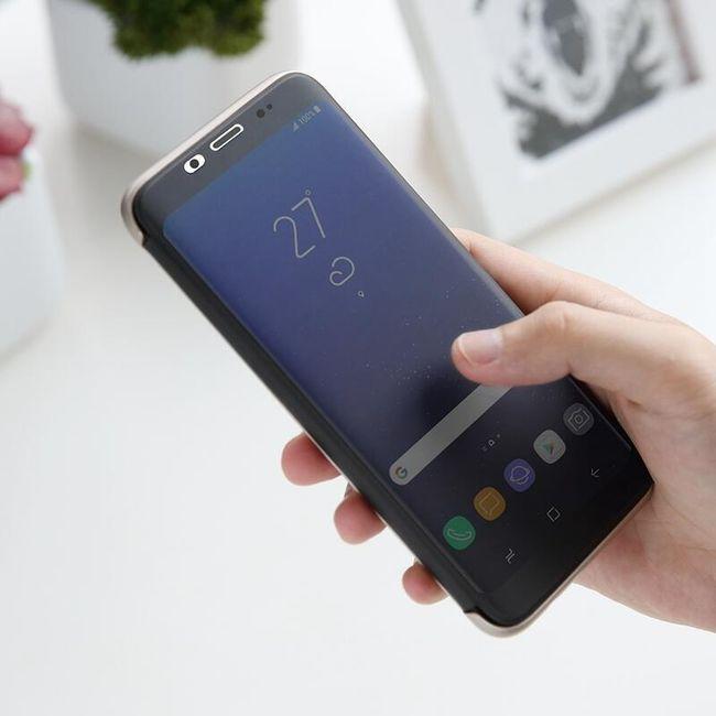 Flipové pouzdro s okýnkem pro Samsung Galaxy S8 1