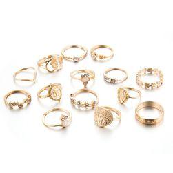 Komplet pierścionków Kaitie