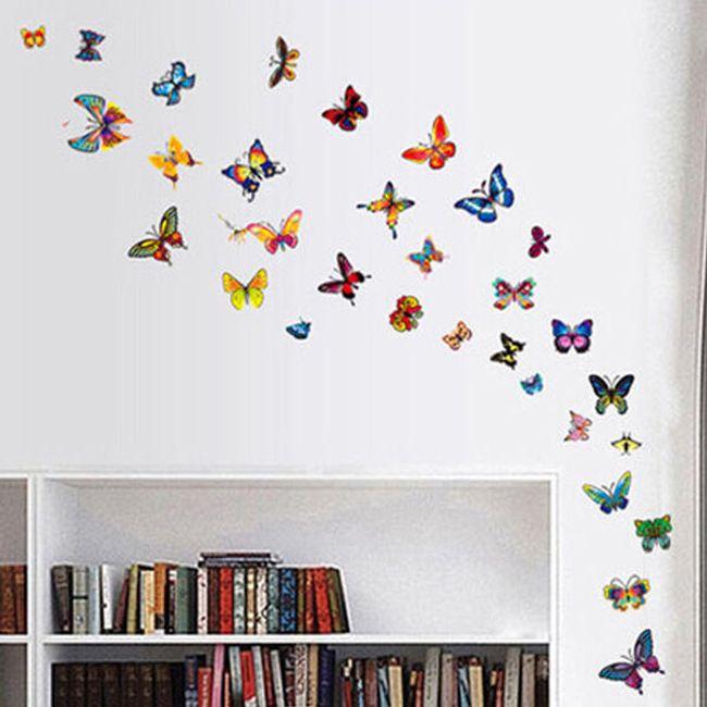 Pillangók - fali matrica 1