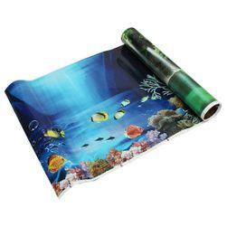 Двусторонний фон для аквариума