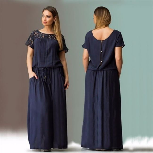 Damska plus size sukienka Guana 1