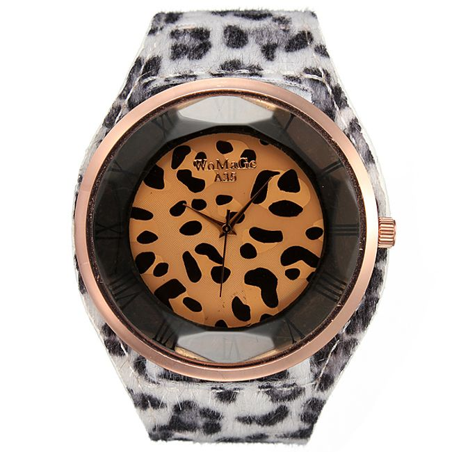 Hodinky s leopardním vzorem - různé barvy 1