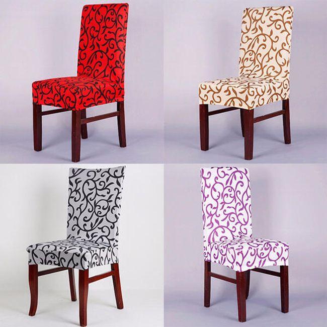 Zarif tasarımlı sandalye kılıfı 1