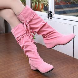 Buty damskie z frędzlami - 4 kolory