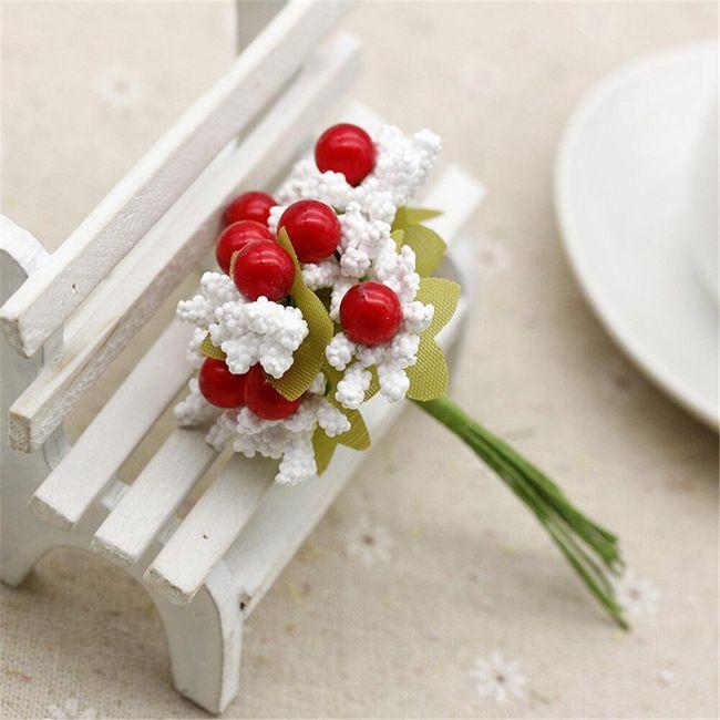 Okrasne umetne rože - 10 kosov 1