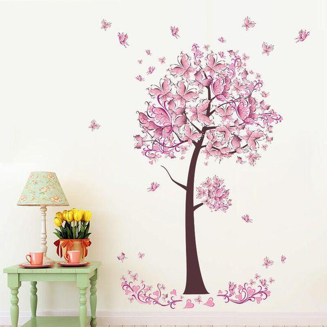 Drevo z rožnatimi cvetovi 1