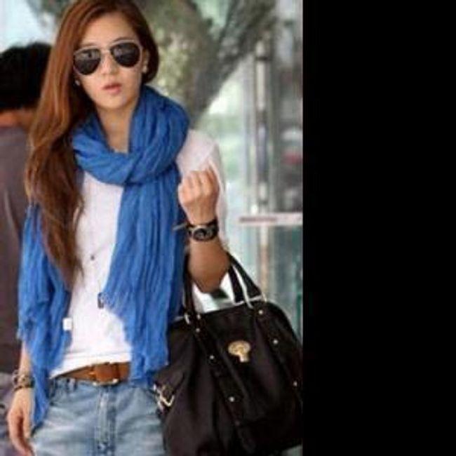 Lehký šátek různých barev 1
