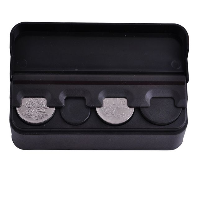 Úložná krabička na mince do auta 1
