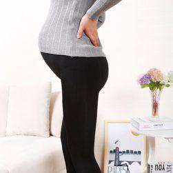 Helanke za trudnice u crnom