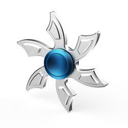 Metalna fidget spinner u originalnom dizajnu