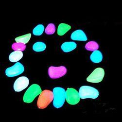 Pietricele luminoasa pentru acvariu - 20 bucati