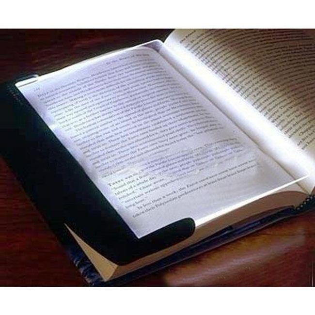 3 LED postranní lampa na knihu  1