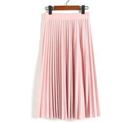 Damska plisowana spódnica - 5 kolorów